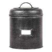 LABEL51 Aufbewahrungsbehälter 20x20x25 cm XL Antik-Schwarz