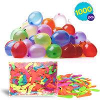 1000 Wasser-bomben Mega-pack Wasser-ballons Luft-ballon Rot Gelb Lila