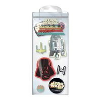 Star Wars, 8x Radiergummis