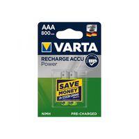 Recharge Accu Power Batterien Aaa 2 Stück Im Blister