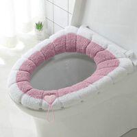 Winterwärmer Toilettendeckelabdeckung - weiches Plüsch o Form