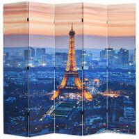 vidaXL Raumteiler klappbar 200 x 170 cm Paris bei Nacht