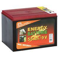 Kerbl Trockenbatterie Zink Kohle 9 V 55 Ah 441212