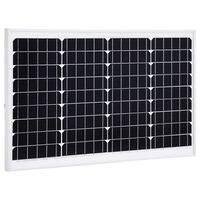 vidaXL Solarmodul 40 W Monokristallin Aluminium und Sicherheitsglas