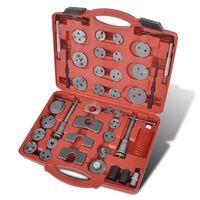 Bremskolbenrücksteller Werkzeugsatz 40-tlg.