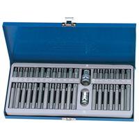 Draper Tools Bit-Set Torx, Vielzahn & Sechskant 40-tlg. TX-STAR 33322