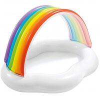 Aufblasbaren Planschbecken, Regenbogen - Intex