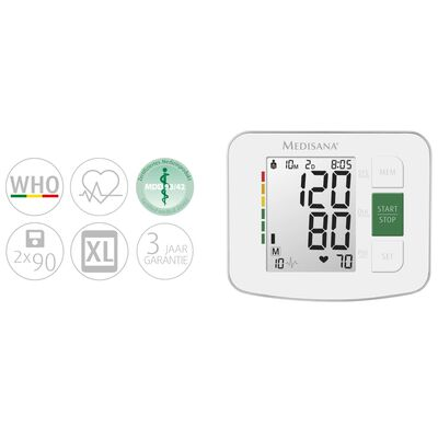 Medisana Blutdruckmessgerät BU 512 Weiß