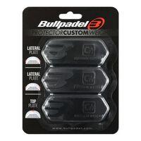 Bullpadel, 3x Schlägergewichte, Protector - Schwarz