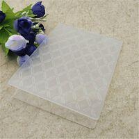 Diamant-Kunststoff-Prägeordner für Scrapbooking-Papier Bastel- /