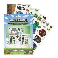 Minecraft, Gadget Abziehbildern - 4 Blätter