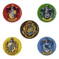 Harry Potter, 5x Radiergummi - Hogwarts Häuser