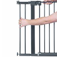 Safety 1st Schutzgitter-Verlängerung 14 cm Schwarz Metall 2429057000
