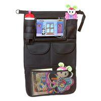 A3 Baby & Kids Auto-Organizer mit Tablet-Halter Schwarz