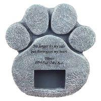 Gedenkgrabstein für Haustier Andenken Grabstein Grab Hund Katze