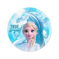Frozen 2, Rundes Handtuch - Elsa und Nokk
