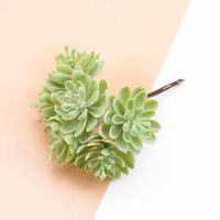 6pcs Seidenblumen für das Scrapbooking künstliche Pflanzen für zu