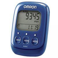 Omron Elektronischer Schrittzähler Walking Style  Blau OMR-HJ-325-EB